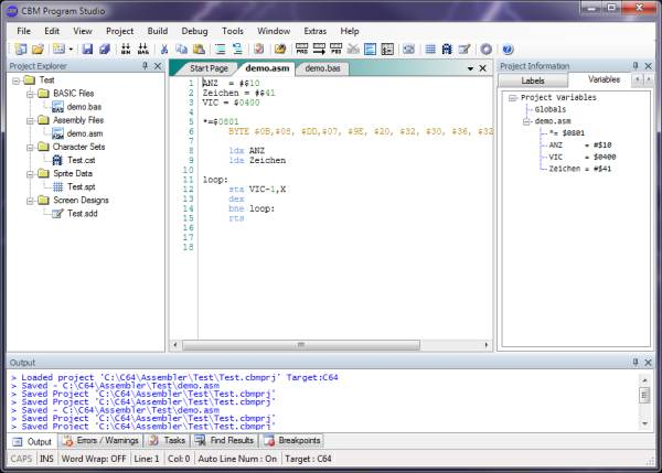 Das CBM Program Studio 2.5.3