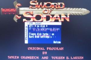 Booten von Sword of Sodan
