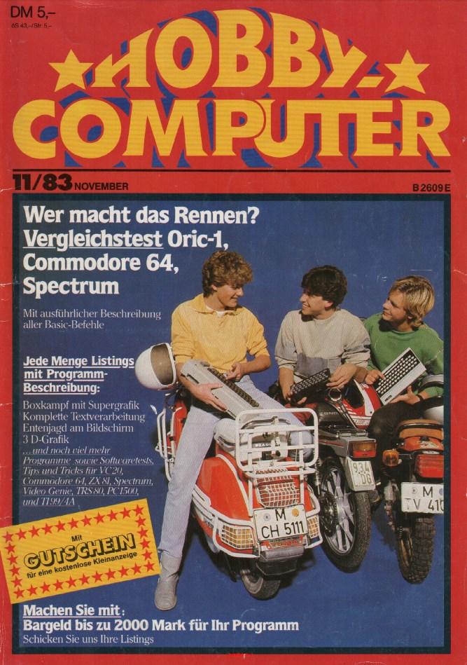 Erstausgabe: Hobby Computer!