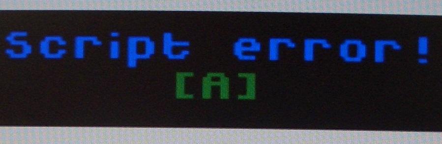 Script error