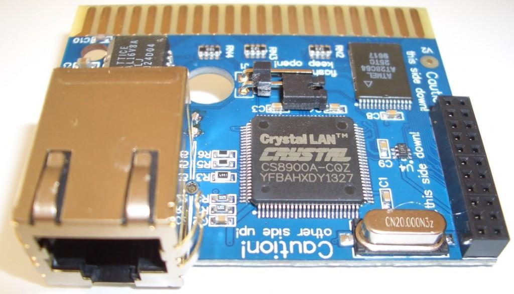 Das aus seiner Verpackung 'befreite' RR-Net MK3-Modul.
