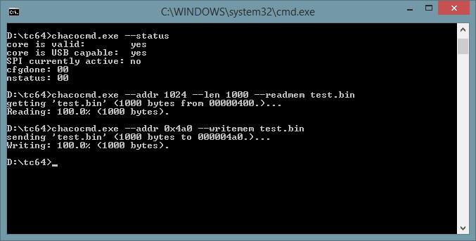 Daten zurück zum C64 schreiben.
