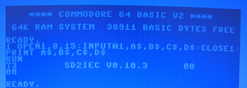 Firmware-Version anzeigen