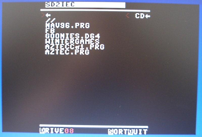 Der CBM-Filebrowser