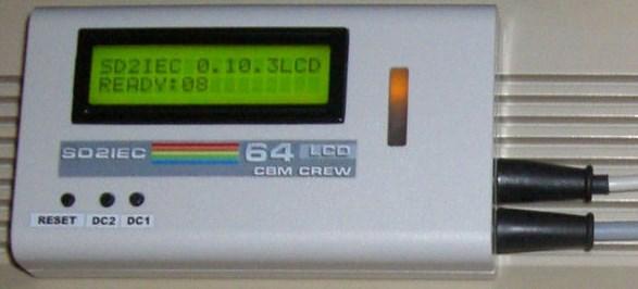Sehr gut verarbeites SD2IEC inkl. Display.