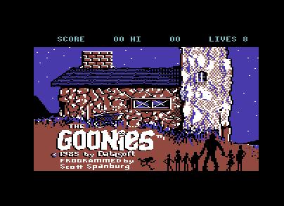 ...und Goonies startet.