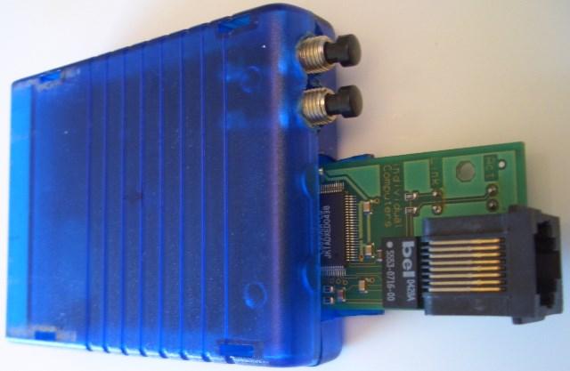 RR-Net MK1 mit Retro Replay im Gehäuse