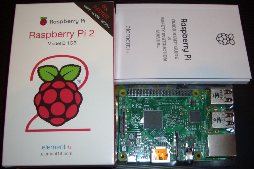 Der neue Raspberry Pi 2 B.