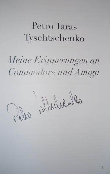 Signiert von Petro Tyschtschenko