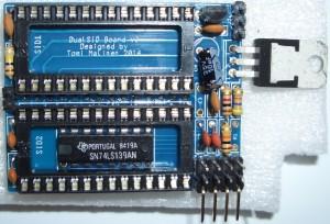 SID: Ein DualSID-Board für zwei 8580