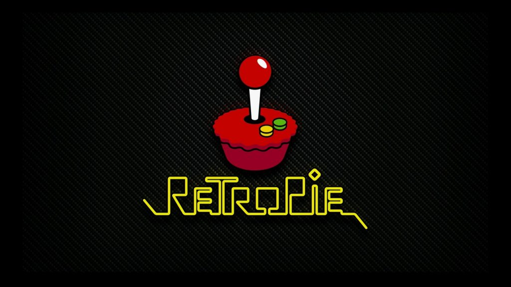 Der RetroPie-Splashscreen…