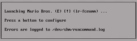 Infos beim Emulator-Start
