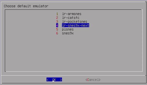 Emulatorauswahl fürs SNES