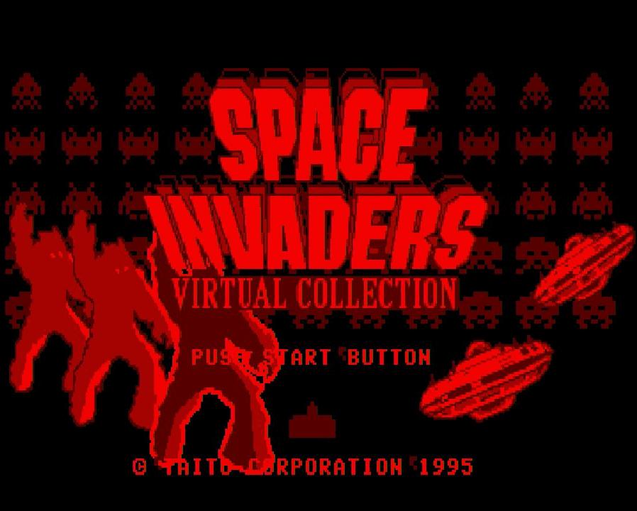 Space Invaders auf dem VirtualBoy