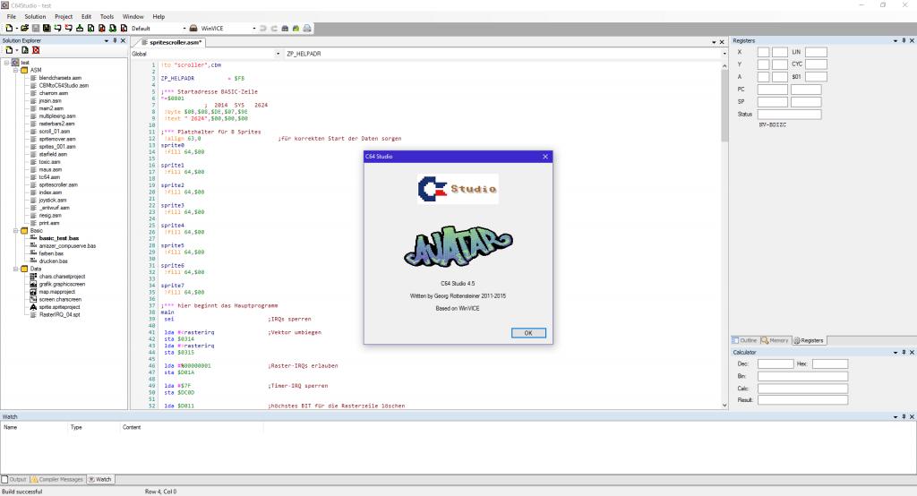 C64 Studio 4.5