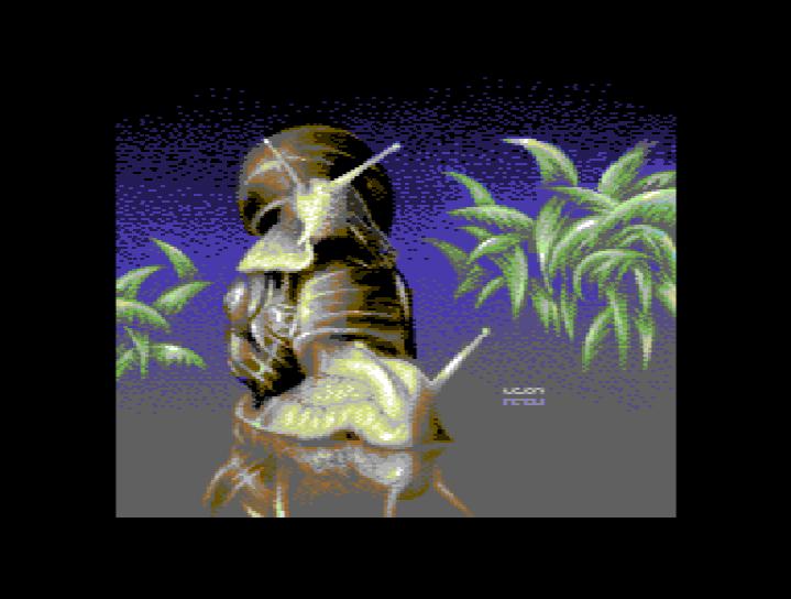 Annäherung an das MCI Bild auf dem C64