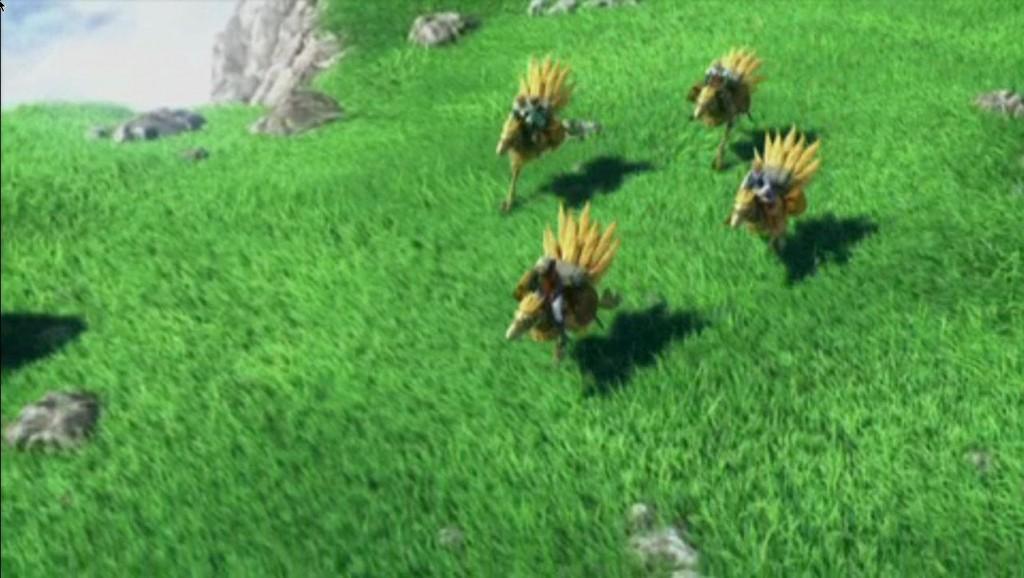Final Fantasy III auf der PSP mit lr-ppsspp