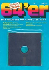 Faltblatt mit Diskette (12/1996 - 01/1999)