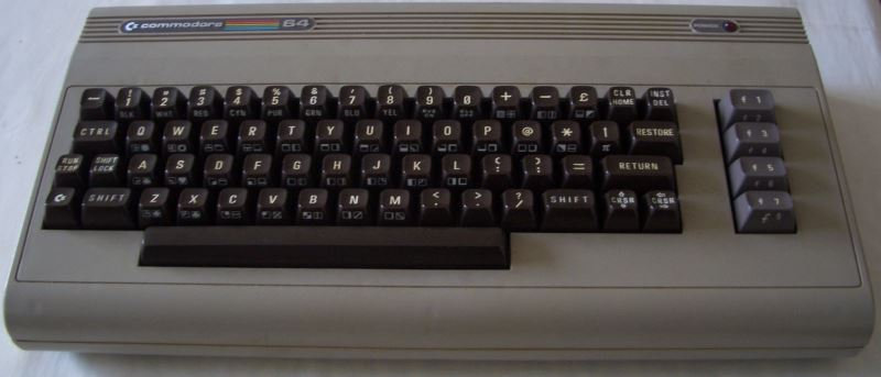 Ein weiterer C64 'Made in UK'