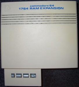 Meine REU 1764 erweitert auf 512KB