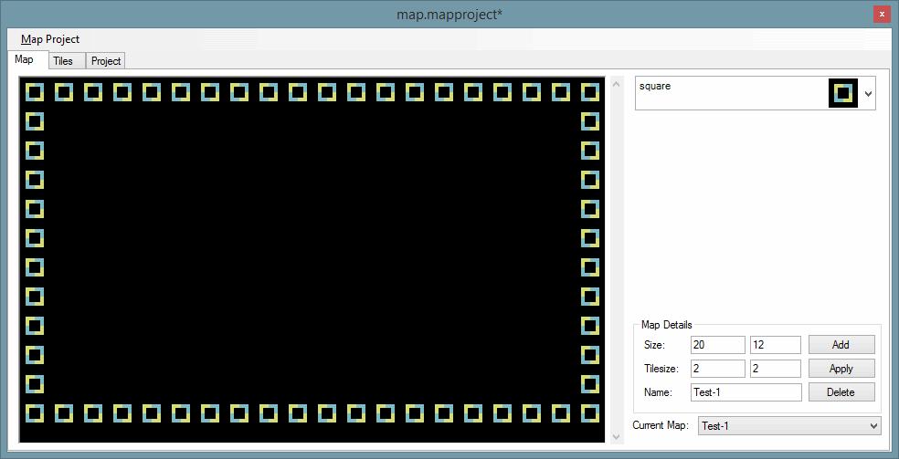 Map mit den Tiles erstellen