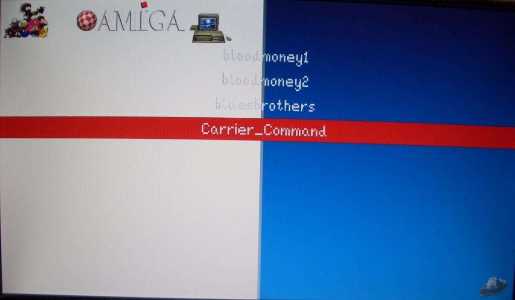 Der Amiga taucht in der EmulationStation auf.
