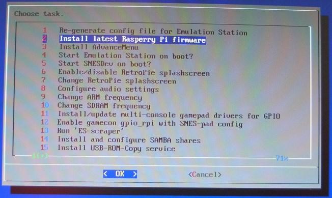 Firmware aktualisieren
