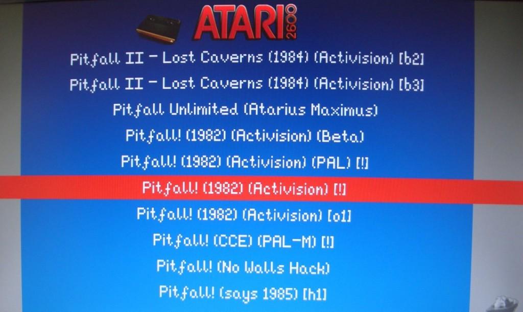 ...jetzt sind die ROMs auch in der EmulationStation sichtbar.
