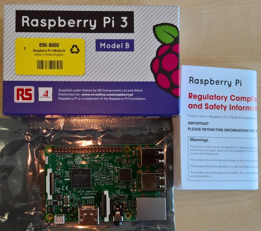 Der neue Raspberry Pi 3.