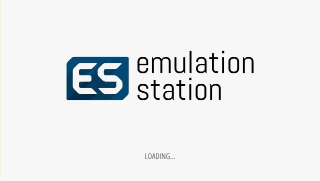 Die EmulationStation 2 wird geladen.