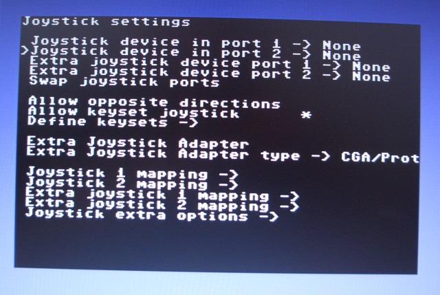 Unter VICE kann der Joystick direkt verwendet werden.