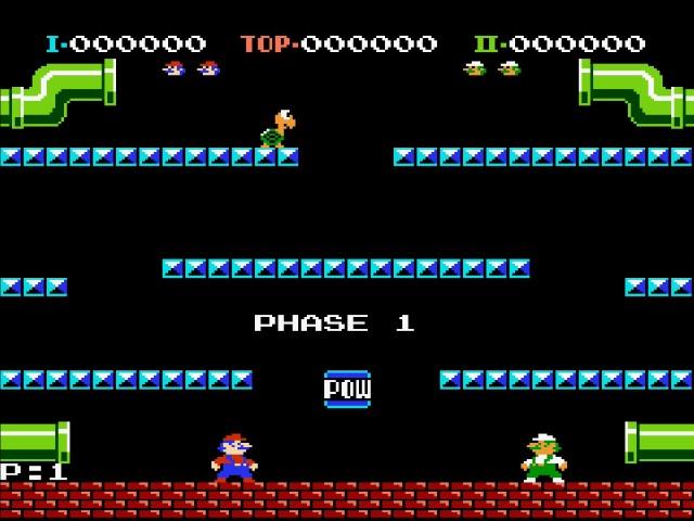 Der 2-Spielermodus mit zwei Controllern.