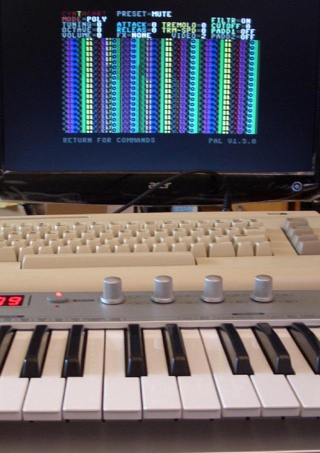 Kerberos mit MIDI-Keyboard
