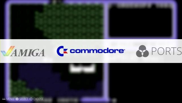 Nun ist auch der Commodore 64 sichtbar.