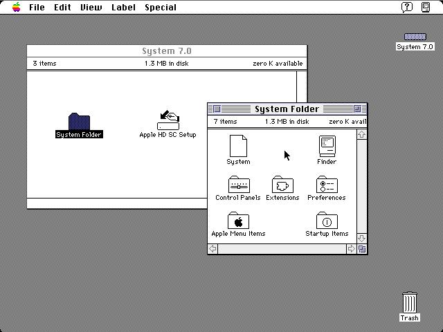 Ein Mac am Pi.