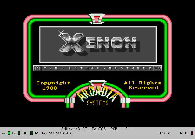 Xenon auf dem ST