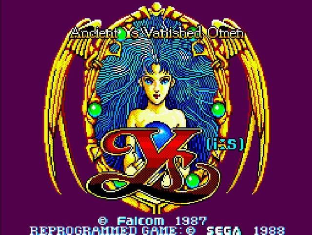 Mit Genesis Plus GX läuft es flüssig.