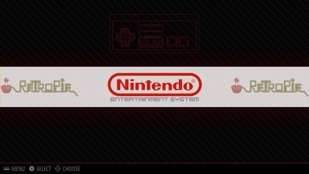 Nun ist auch das NES sichtbar.