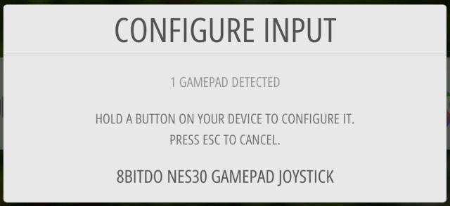 Der Controller läuft per Bluetooth.