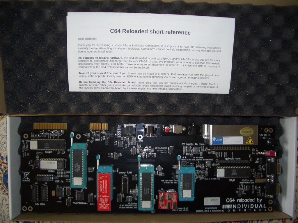 C64 Reloaded mit Nullkraftsockeln und Ersatzschaltungen.