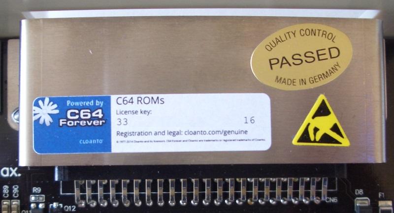Lizenzkey fürs Kernal- und BASIC-ROM.