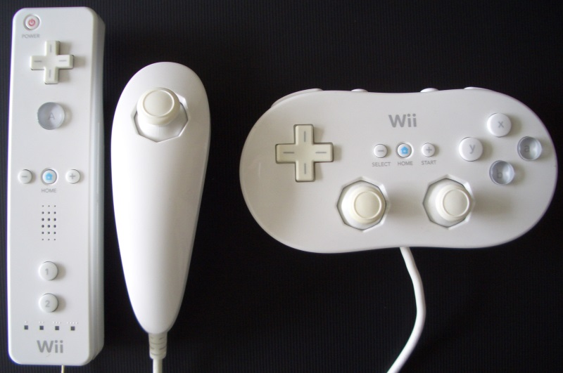 WiiMote, Nunchuk und Classic-Controller