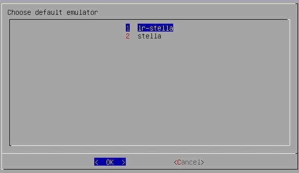 Die Atari VCS 2600 Emulatoren.
