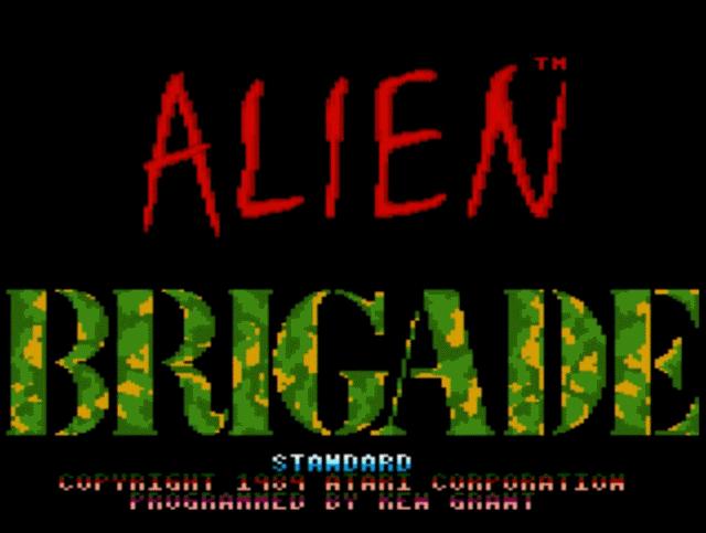 Alien Brigade auf dem 7800