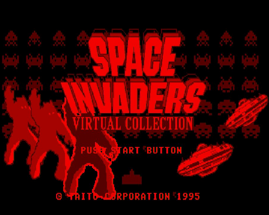 Space Invaders auf dem VirtualBoy