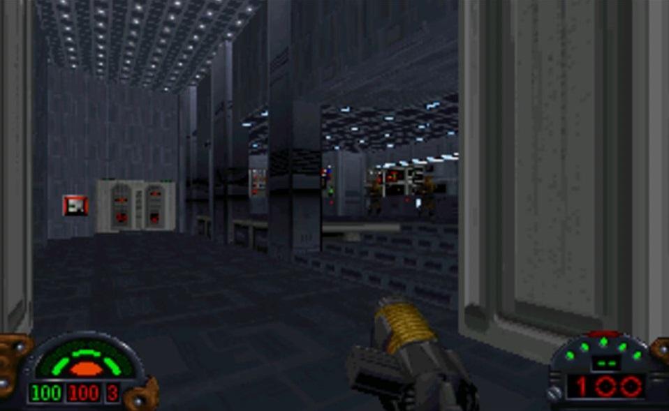 Dark Forces in der DOSBox auf dem Pi