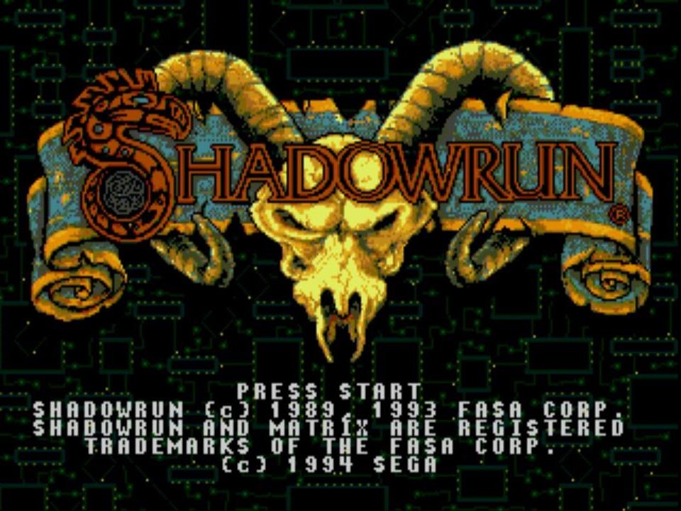 Das gute, alte Shadowrun auf dem Megadrive