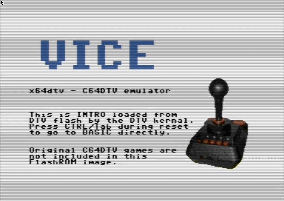 C64DTV auf dem Pi