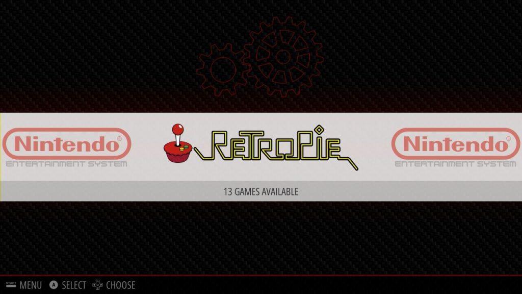 RetroPie-Einstellungen über die EmulationStation