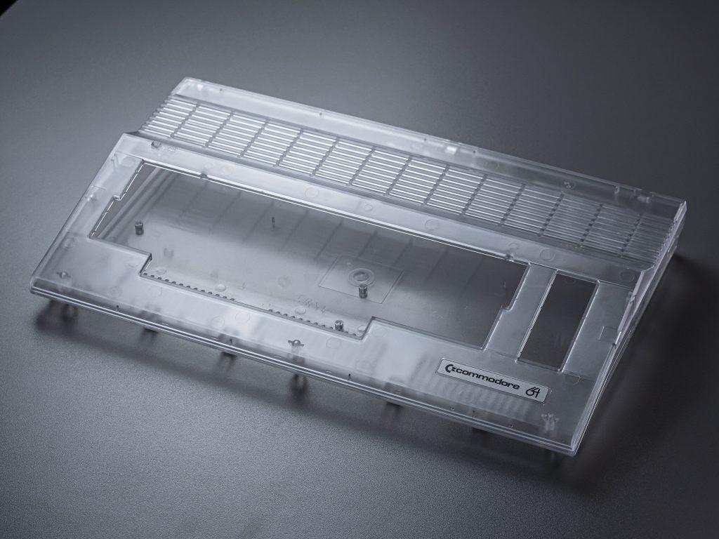 Transparentes C64C Gehäuse
